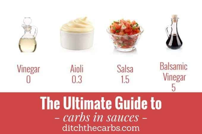 Ultimate Guide To Carbs In Sauces