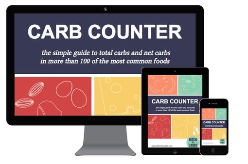 Simple carb counter