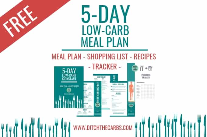 free low-carb meal plan
