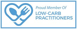 Proud member of Low-Carb Practitioners
