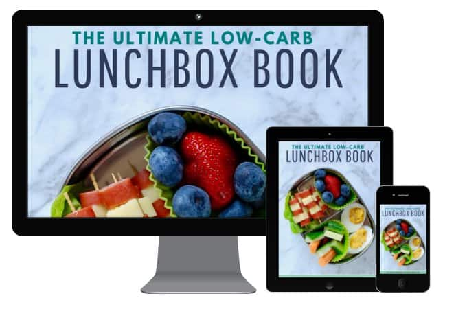 Low-Carb Lunchbox book mockup devices