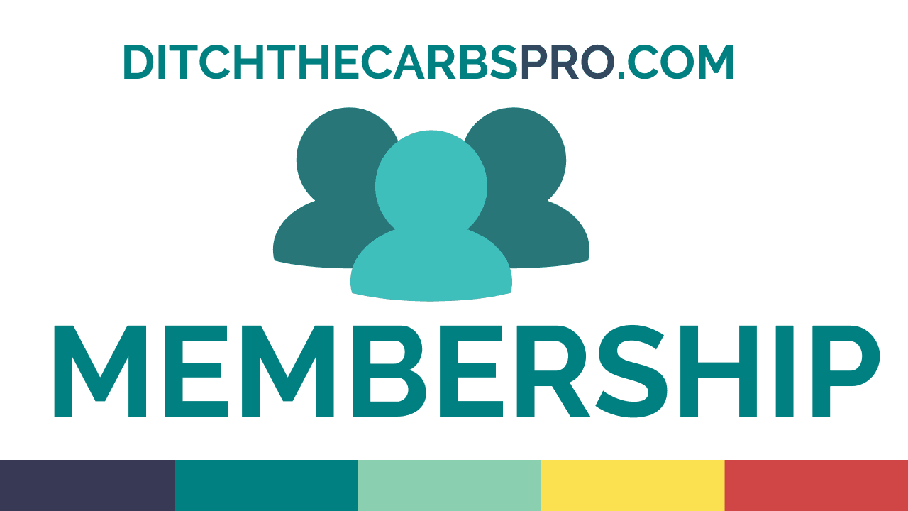 low-carb course and membership details